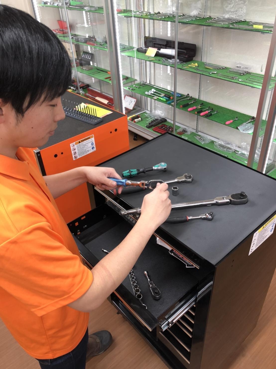 工具専門リユースショップの店舗スタッフ 店舗イメージ3